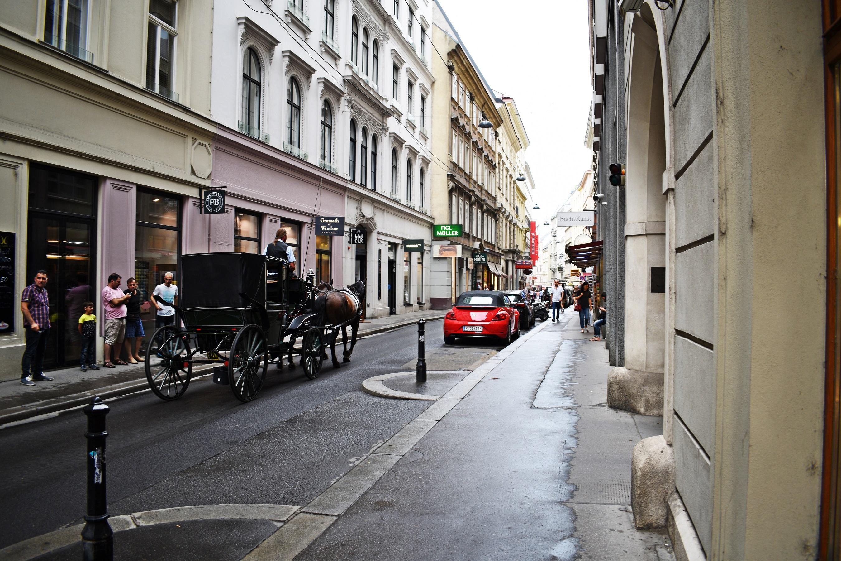 majestatyczny, poważny Wiedeń